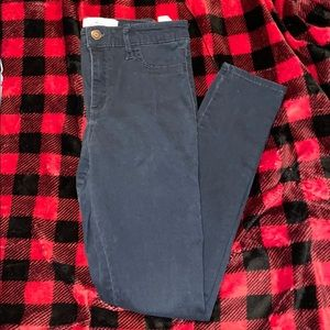 Hollister size 3 high rise jeans